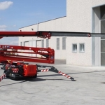 23m (76ft) Hinowa 23.12 Self Propelled Tracked Spider Boom Lift Hire