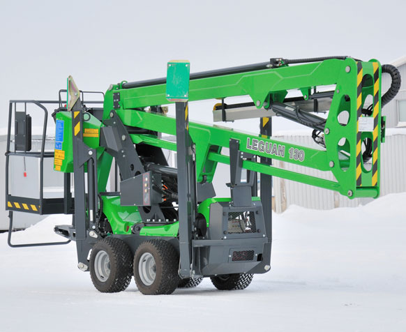 Leguan 130 Series Spider Boom Lift