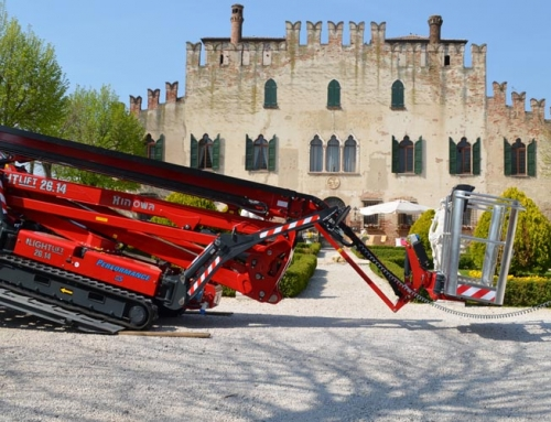 26m Hinowa 26.14 Articulated Boom Lift